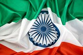 Celebrating India Independence Day India Flag Background poster