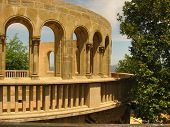 Monastery Montserrat.Fragment .