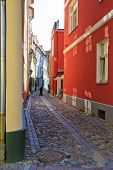 Pretty Riga backstreet