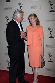 LOS ANGELES - JUN 14:  John McCook, Laurette Spang McCook arrives at the ATAS Daytime Emmy Awards Nominees Reception at SLS Hotel At Beverly Hills on June 14, 2012 in Los Angeles, CA