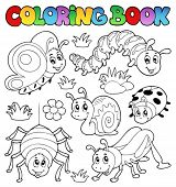 picture of hopper  - Coloring book cute bugs 1  - JPG