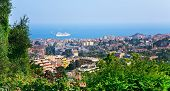 View Of Cannes City And Azure Coast