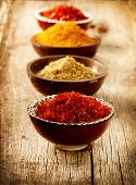 pic of condiment  - Spices Curry - JPG