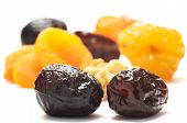 Dates And Different Dried Fruits