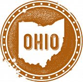 Vintage Ohio USA estado sello