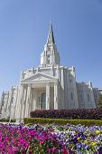 Houston Texas Tempel in Houston, Texas