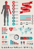 pic of graph  - Medical and healthcare icons and data elements - JPG