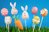 pic of cake-ball  - Easter cake pops - JPG