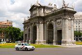 Alcala Gate In Madrid