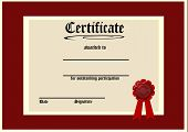 Red Certificate