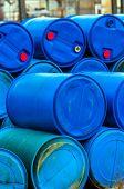 Several Barrels Of Toxic Waste