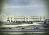 Vintage photo of Versailles, France