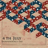 4th of July Happy Independence Day background.