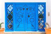 Ornamental Blue Doors.