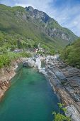 Lavertezzo,Verzasca Valley,Switzerland