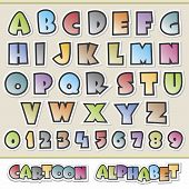 Cartoon-Alphabet