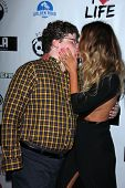 LOS ANGELES - APR 2:  Jesse Heiman, Jasmine Dustin arrives at  the No Kill L.A. Charity Event at the