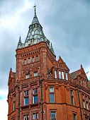 foto of prudential center  - Prudential Building Nottingham designed by ALfred Waterhouse 1894 - JPG