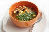 Olives Soup.