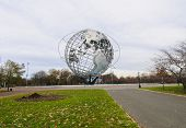 Unisphere In Corona Park In New York