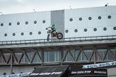 Trial Show At Eicma 2013 In Milan, Italy