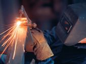 Welder With Cutting Torch
