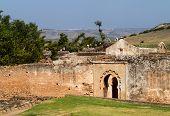 Roman Ruins At Chellah Morocco
