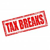 Tax Breaks-stamp