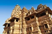 Vishvanatha Temple,Dedicated To Shiva, Khajuraho, India - UNESCO world heritage site.