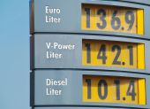 Sign With Petrol Prices