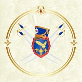 Busby, sword and shield-1