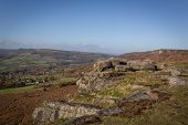 Baslow Edge Peak District Rock