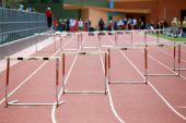 Start Of A Hurdles Race