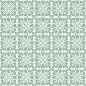 Vintage Seamless Pattern With Victorian Motif