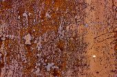 Metal Rusty Red Grunge Texture