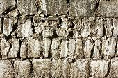 Texture Of Old Cobblestones