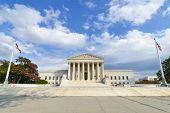 U.S. Supreme Court in Autumn - Washington DC, United Sates