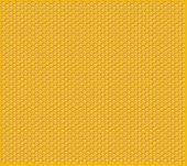 Orange Shiny Honeycomb Full Of Honey Cells Decorative Texture