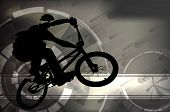image of BMX cyclist