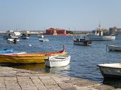 Fishermens' city in Sicily