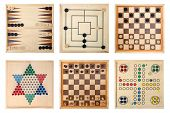 Board games - Backgammon, Nine Men's Morris,Draughts(checkers), Halma,Chess,Do not get angry