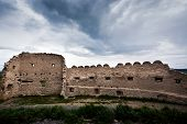 Rupea fortress, Brasov county, Romania. Medieval saxon landmark of Transylvania