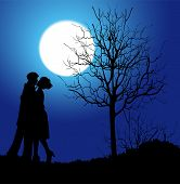kisses and moonlight