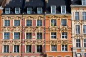 Historical Houses In Lille, France poster