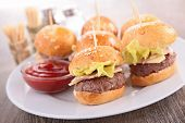finger food- hamburger