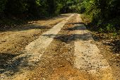 Rural Roads In Underdeveloped