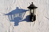 Spanish wall light, Andalusia, Spain.
