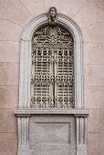 Ornate window in Como