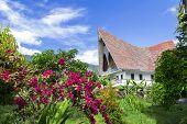 Batak Style House.