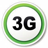 Vector 3G Round Icon